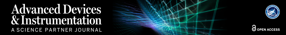 Advanced Devices Special Issue Image: Colored lines over a dark background