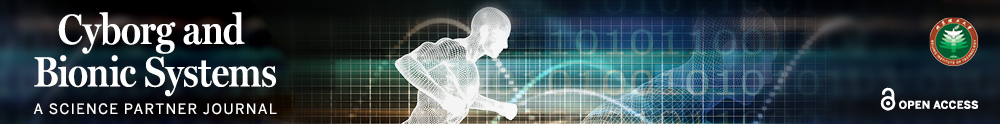 3D human model in a running pose and background containing a chart and binary code.